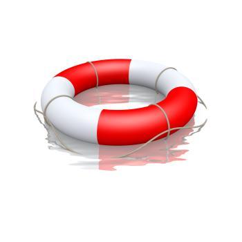 Rettungsring - BU kann Existenz retten