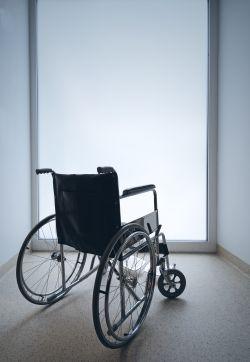 Rollstuhl - Dread Disease Absicherung